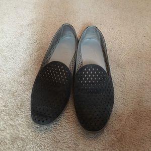 Franco Sarto laser cut leather shoes